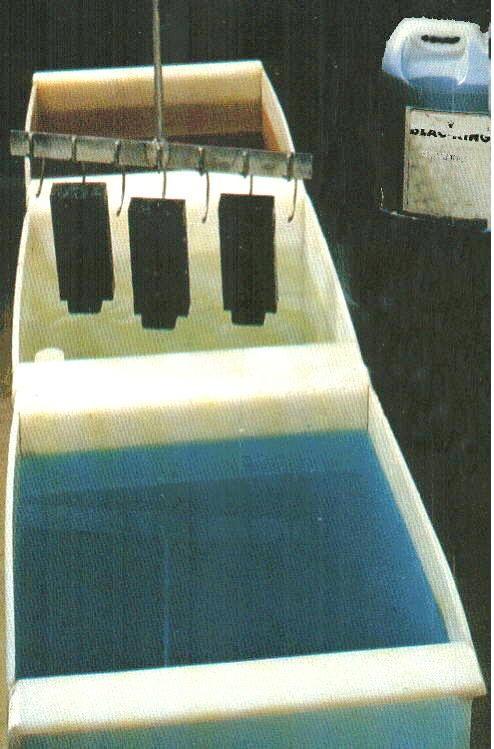 Eksempel på et mindre koldbruneringsanlæg